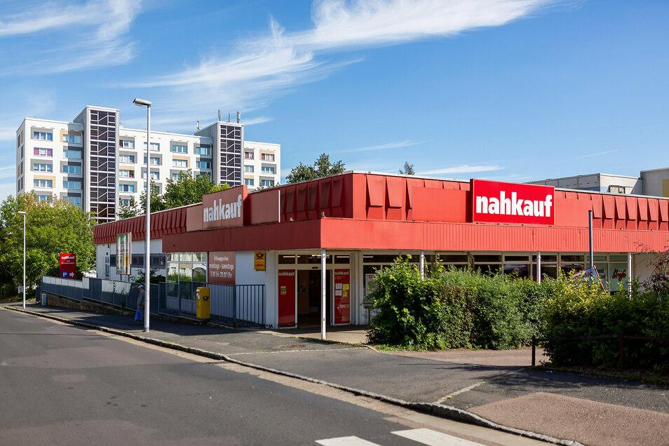 Der Nahkauf in Freital-Zauckerode soll saniert und erweitert werden.