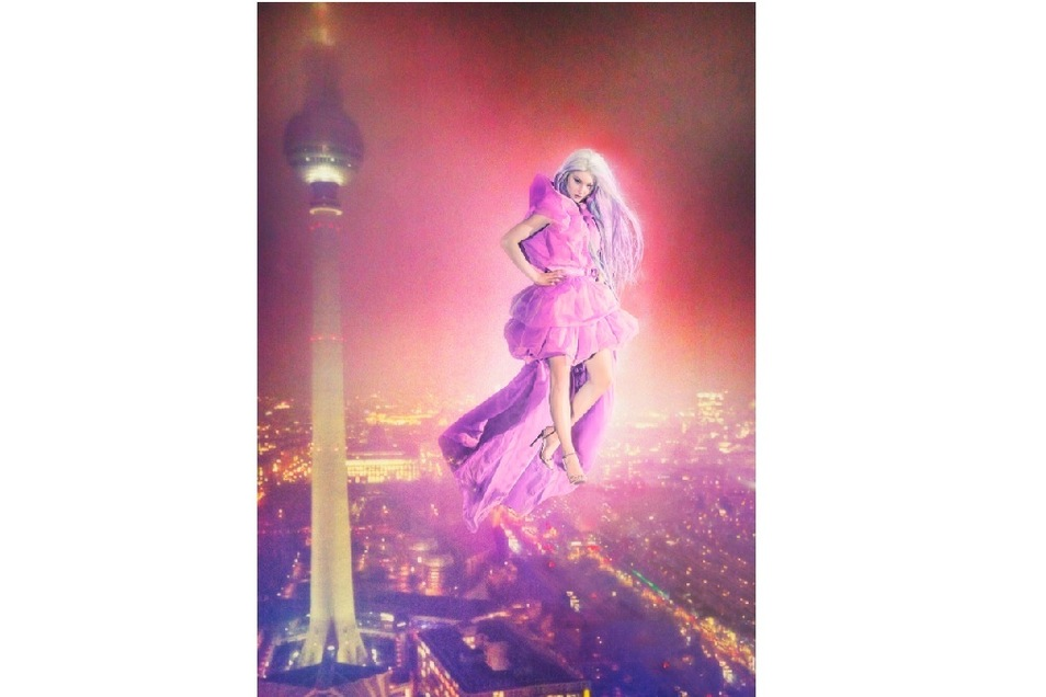 Dieses Foto entstand beim Höhenshooting über dem Berliner Alexanderplatz.