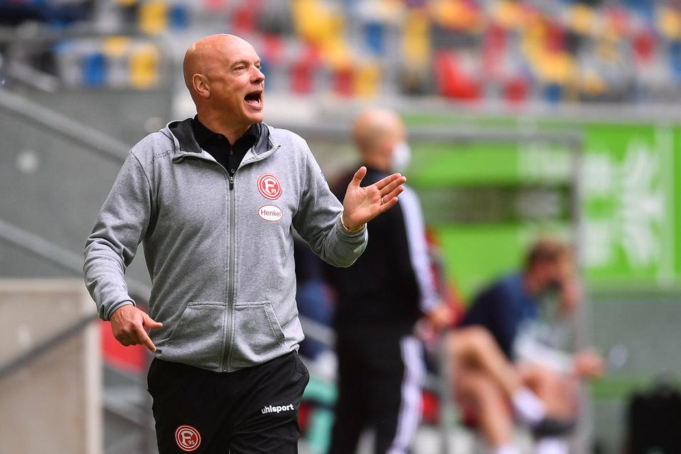 Uwe Rösler spielte einst für Dynamo Dresden und ging dann in den Westen, er war als Spieler erfolgreich und ist es auch als Trainer – seit Januar 2020 bei Fortuna Düsseldorf.