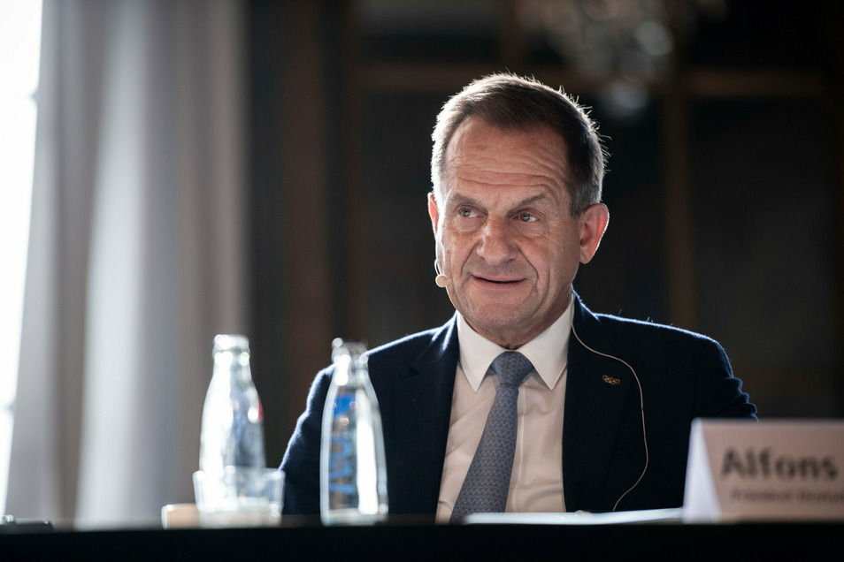 Erfreut über die Motivation der Sportminister, besorgt wegen der hohen Zahl an Vereinsaustritten: DOSB-Chef Alfons Hörmann.