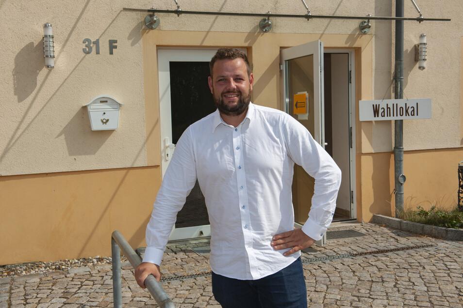 Sebastian Fischer ist nicht mehr im Landtag, aber wurde als neuer Meißner CDU-Kreisvorsitzender gewählt. Jetzt möchte er gern Landrat von Meißen und Nachfolger von Arndt Steinbach werden.