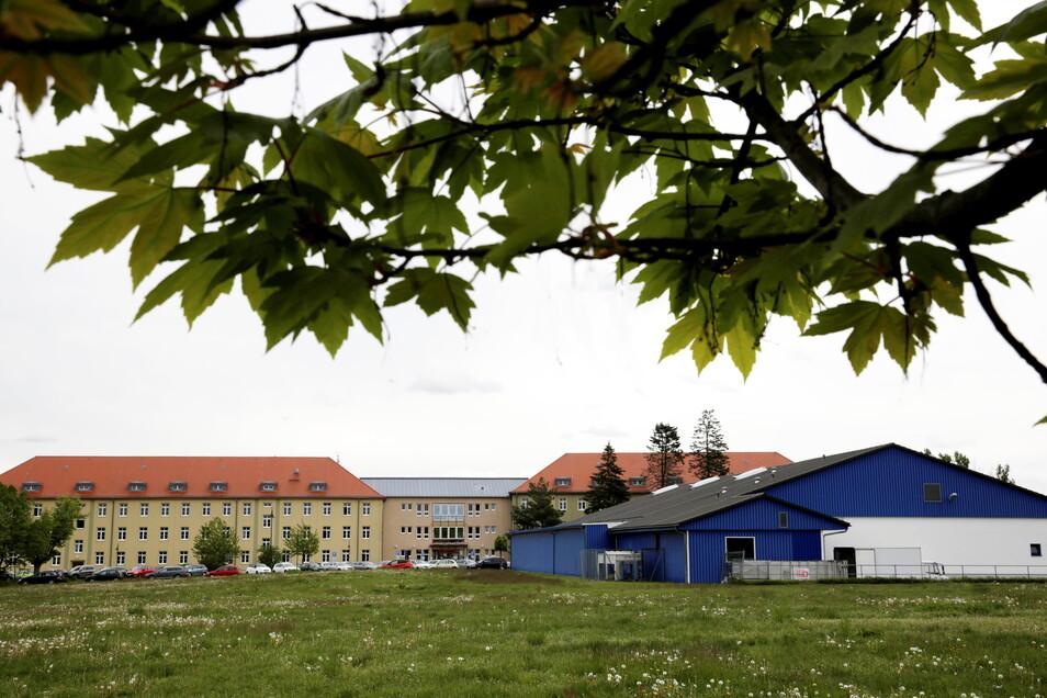 Auf dieser Fläche könnte der Neubau des Kamenzer Marktes entstehen.