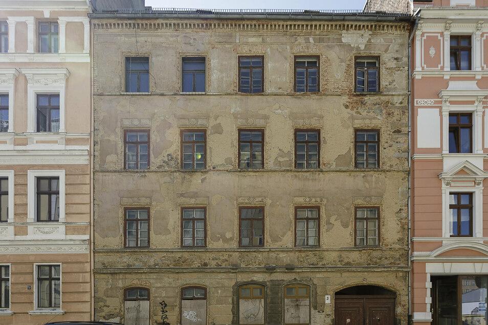Sicherung geplant: Dresdener Straße 3
