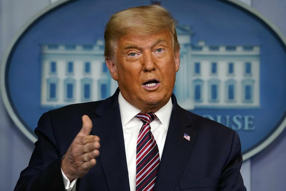 Der Republikaner Donald Trump unterlag bei der Wahl des Präsidenten seinem Herausforderer Joe Biden von den Demokraten.
