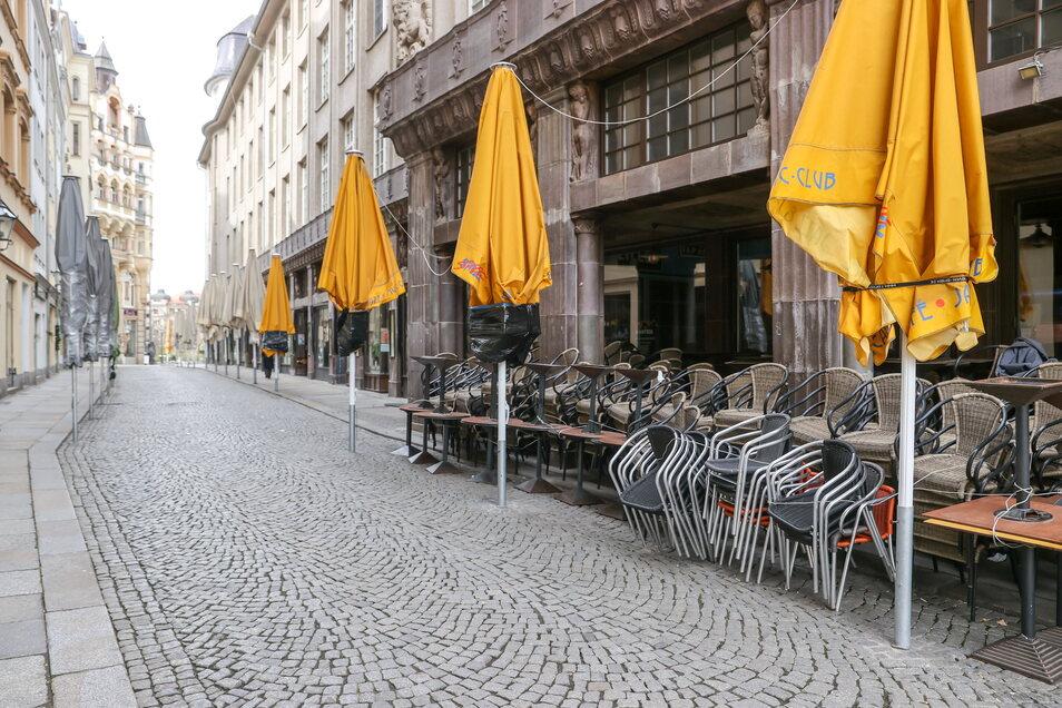 Die Stadt Leipzig ist derzeit Sachsens einzige Region mit einer Inzidenz unter 100 - und darf damit auf Lockerungen hoffen.