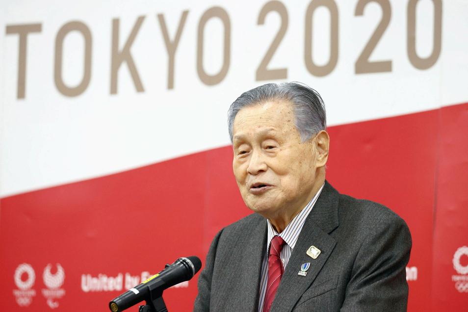 Yoshiro Mori, Präsident des Tokioter Organisationskomitees der Olympischen Spiele, will seinen Posten nach heftiger Kritik räumen.