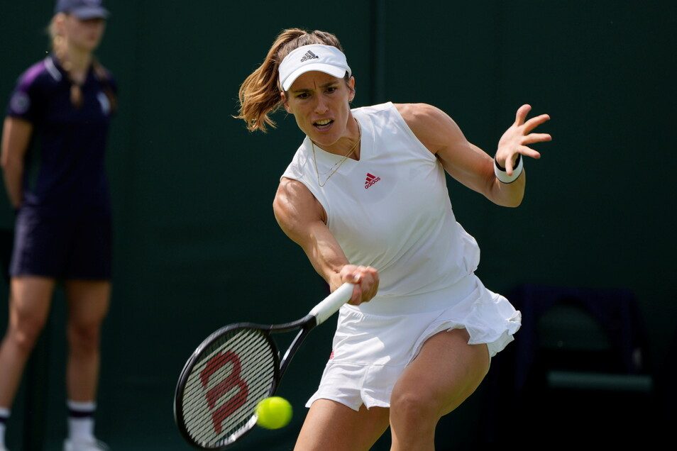 Andrea Petkovic spielte am Donnerstag noch in England. Wird das zum Problem für Dresden?