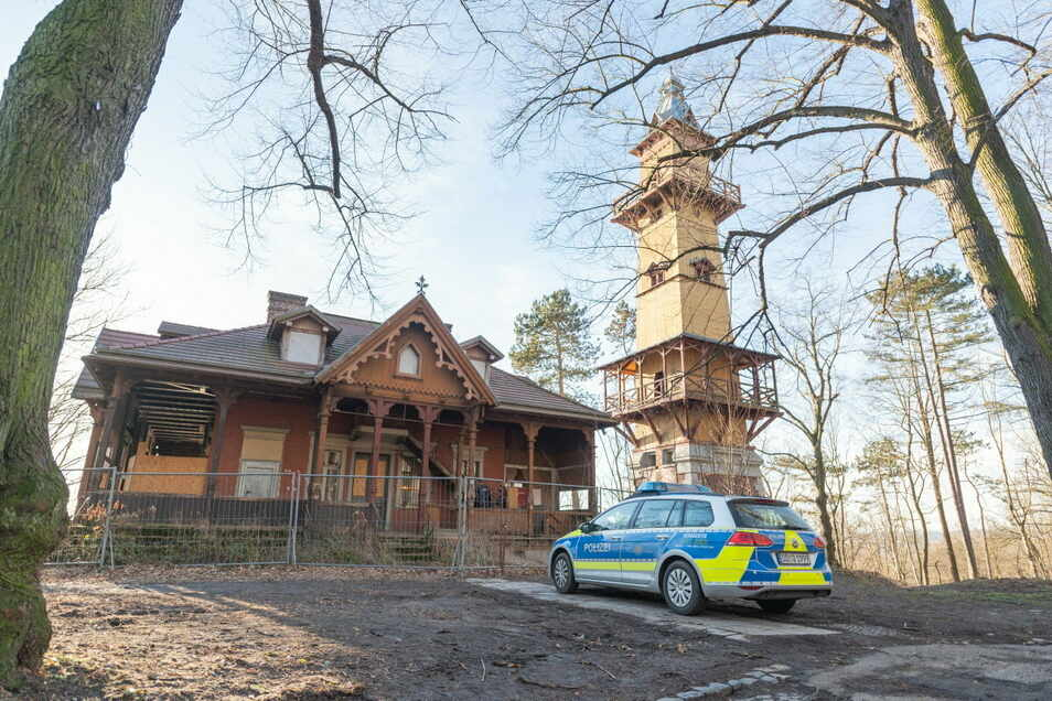 Im Weinberghaus in Görlitz hat es gebrannt.