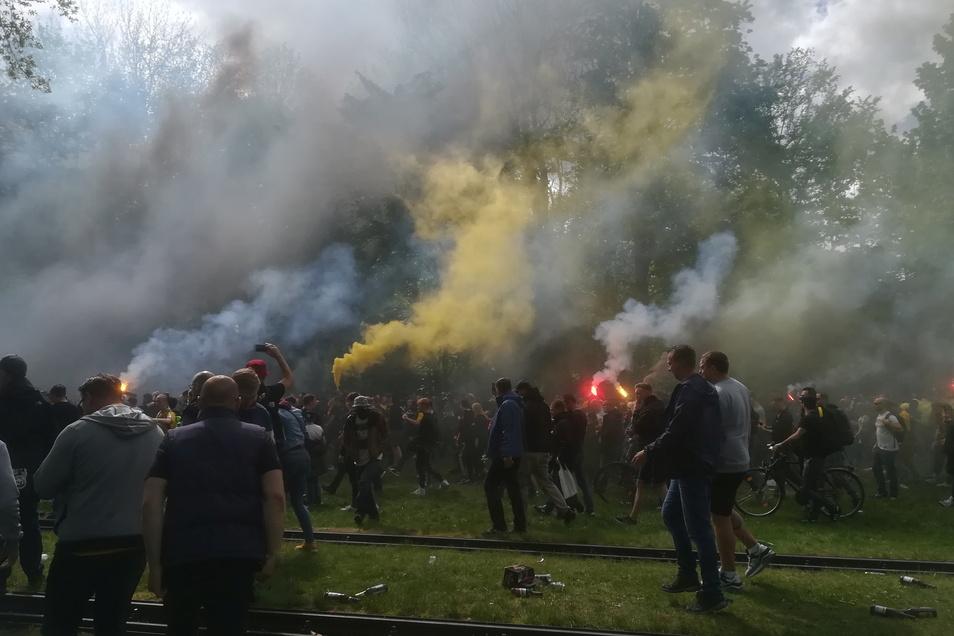 Immer mehr Feuerwerkskörper und illegale Böller werden gezündet.