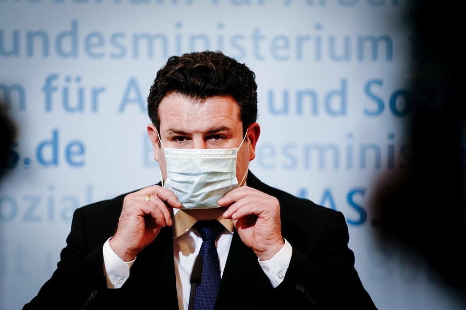 Sozialminister Hubertus Heil (SPD) strebt eine schnelle Umsetzung der Beschlüsse an.