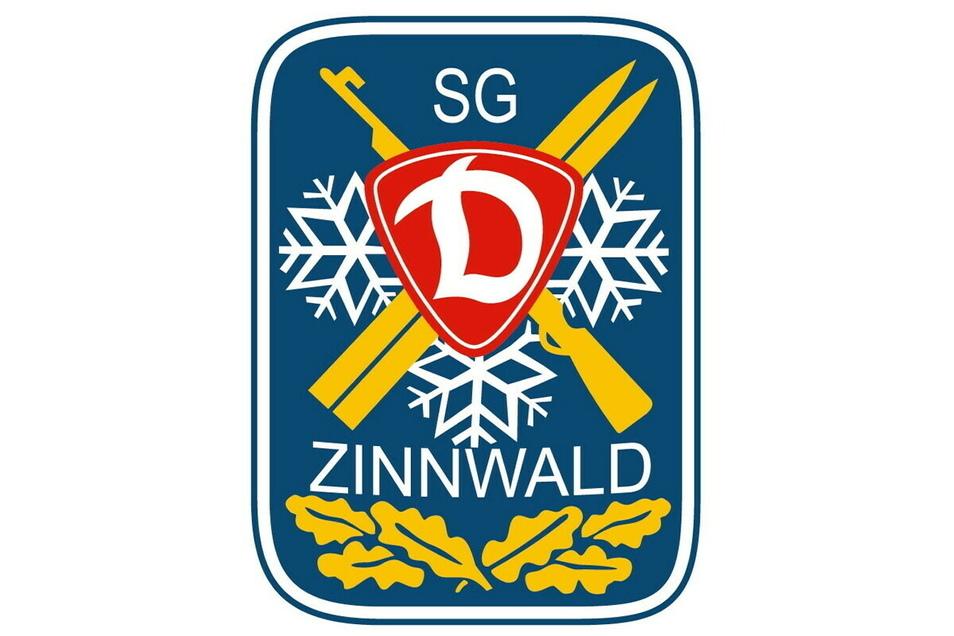 Das alte Logo ist auch das neue. Die SG Dynamo Zinnwald war vor der Wende der erfolgreichste Biathlonverein der Welt.