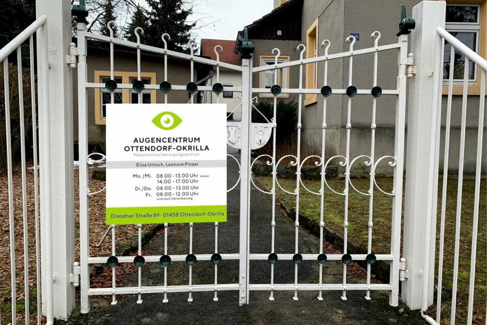 Für viele Ottendorfer geht ein Wunsch in Erfüllung. Im ehemaligen Ärztehaus an der Dresdner Straße öffnet eine Augenarztpraxis.