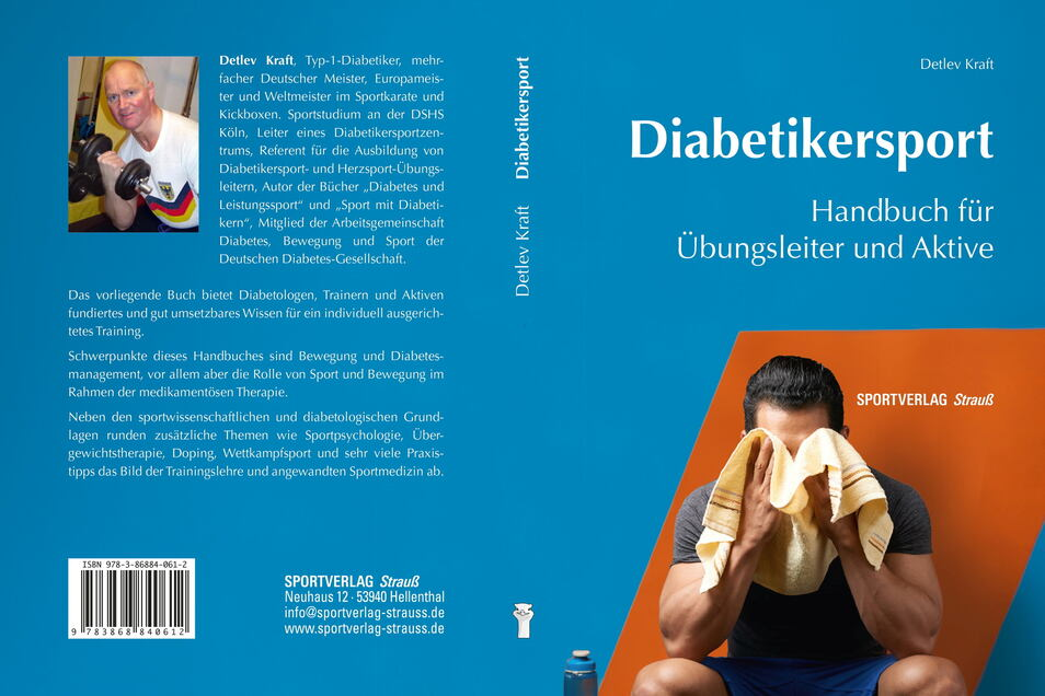 Detlev Kraft versteht sein neues Buch als Handreichung für Übungsleiter, Aktive und Ärzte im Umgang mit Sport und Diabetes.