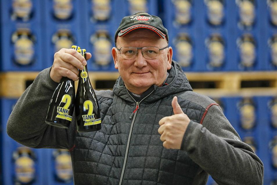 Steffen Dittmar, Geschäftsführer der Bergquell-Brauerei in Löbau wurde jüngst auch zum Unternehmer des Jahres gekürt.