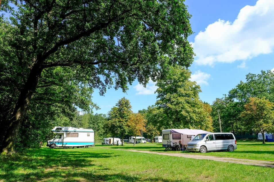 Die Idylle auf dem Campingplatz Bad Sonnenland wird zunehmend mehr von Gästen entdeckt.