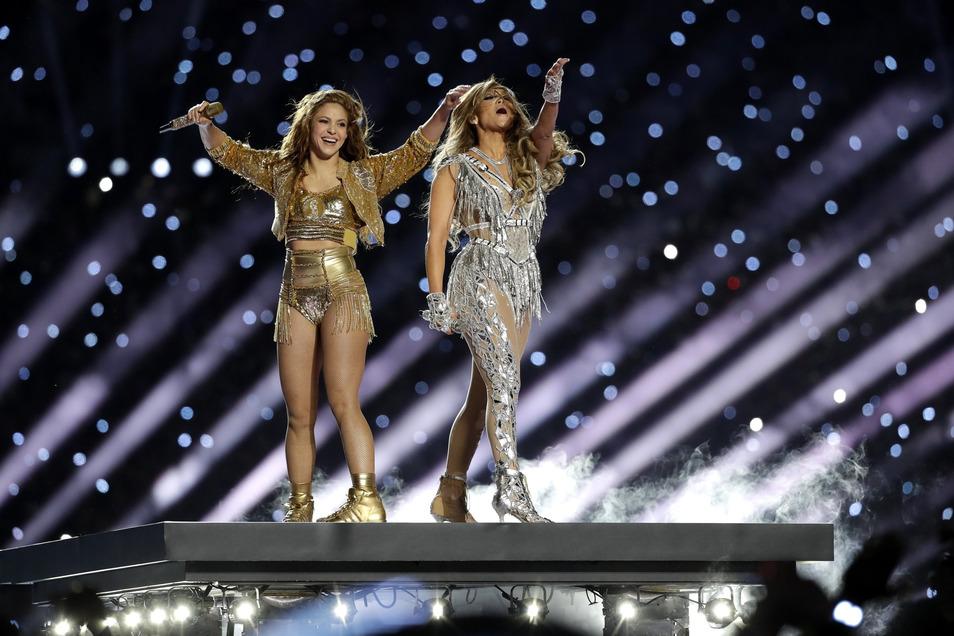 Shakira und Jennifer Lopez treten in der Halbzeit auf