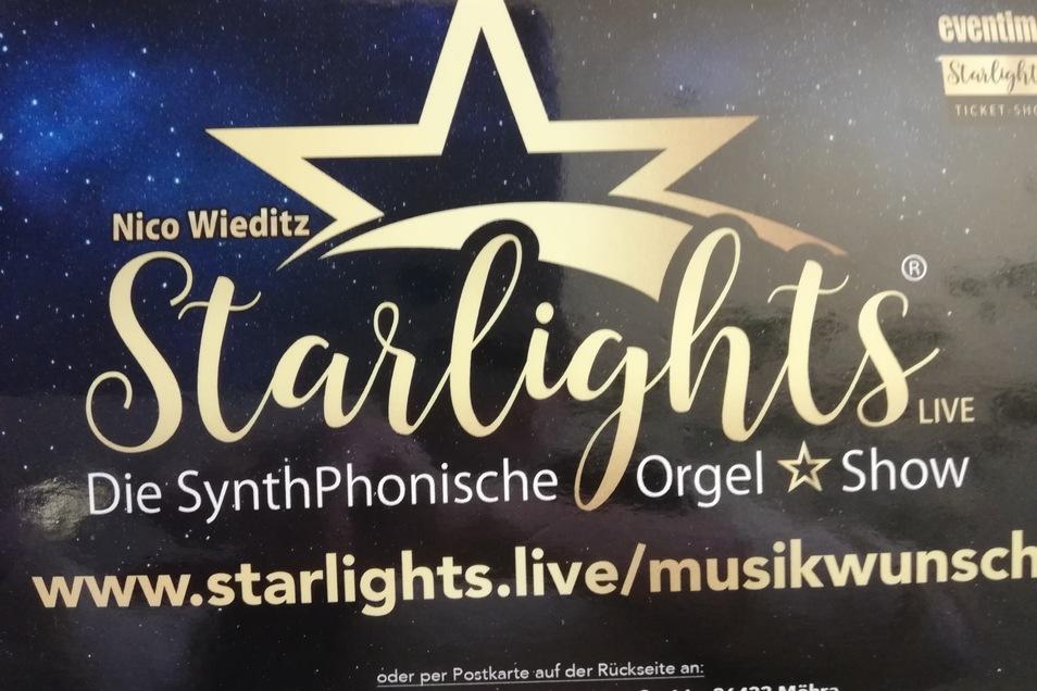 Nur noch wenige Tickets sind vorhanden. Aber die Postkarten für die Musikwünsche sind jetzt vorrätig.