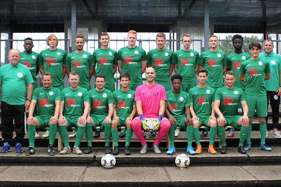 1. Männermannschaft Hoyerswerdaer FC Saison 2020/2021