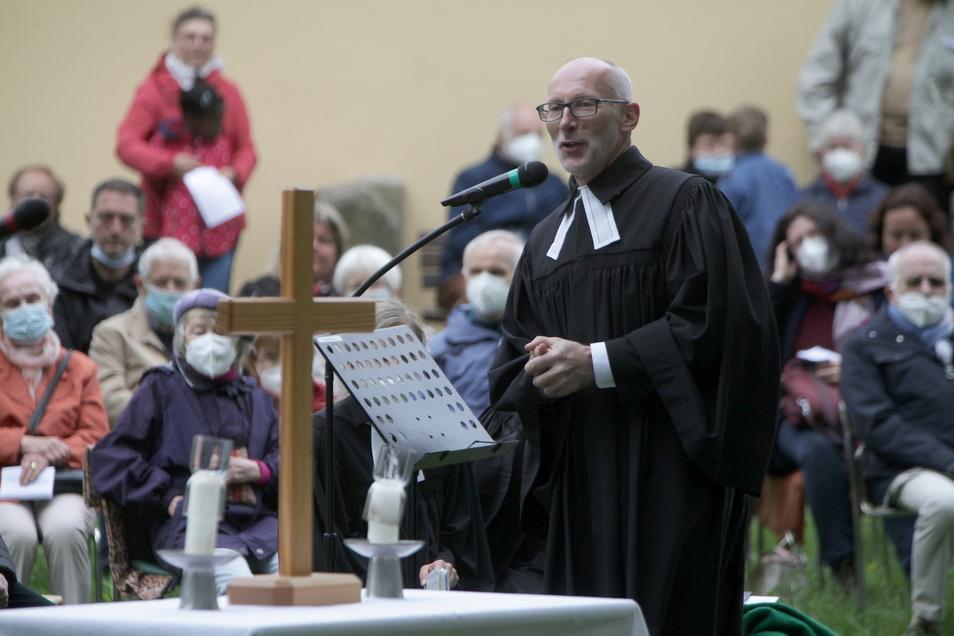 Burkhard Nitzsche ist der Pfarrer der evangelischen Kirchgemeinde Graupa-Liebethal.