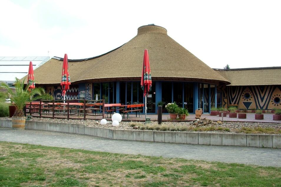 "Das heutige Zoo-Restaurant ""Sambesi"", vormals ""Jambo""."