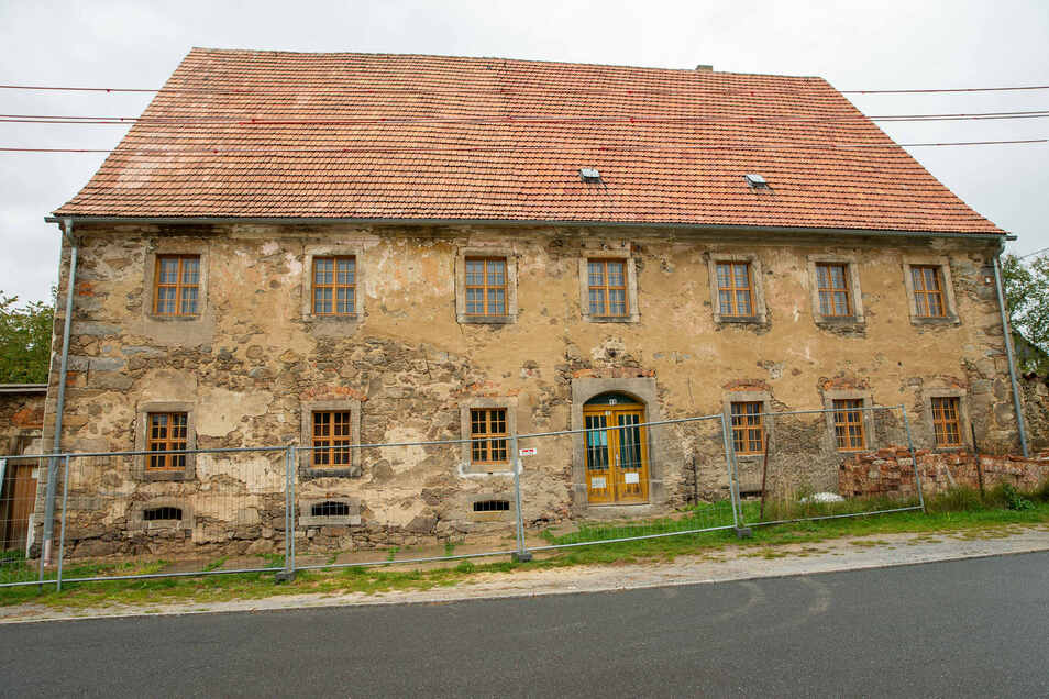 Erste Innensanierung im Gesindehaus in Polenz bei Neustadt ist abgeschlossen.