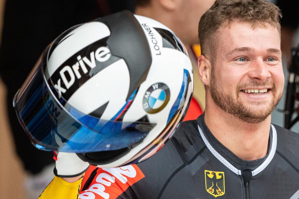 Er hat gute Chancen, am Ende wieder eine Medaille zu gewinnen. Schon im Zweier belegte Johannes Lochner den zweiten Platz.