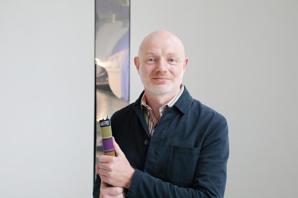 Stefan Schmidtke, frisch ernannter Geschäftsführer der Kulturhauptstadt GmbH. Chemnitz ist 2025 Kulturhauptstadt Europas.