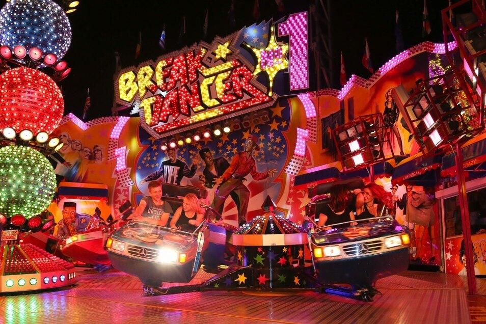 """Der """"Breakdancer"""" - beliebt, aber nichts für schwache Nerven."""