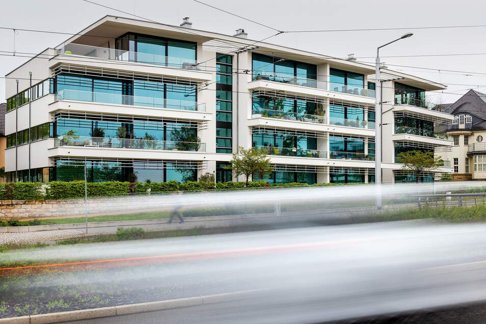Nehmen Neubauwohnungen wie in der Radeberger Vorstadt in Dresden den Druck auf dem Mietmarkt? Experten bezweifeln das. Sie erwarten mehr vom sozialen Wohnungsbau.