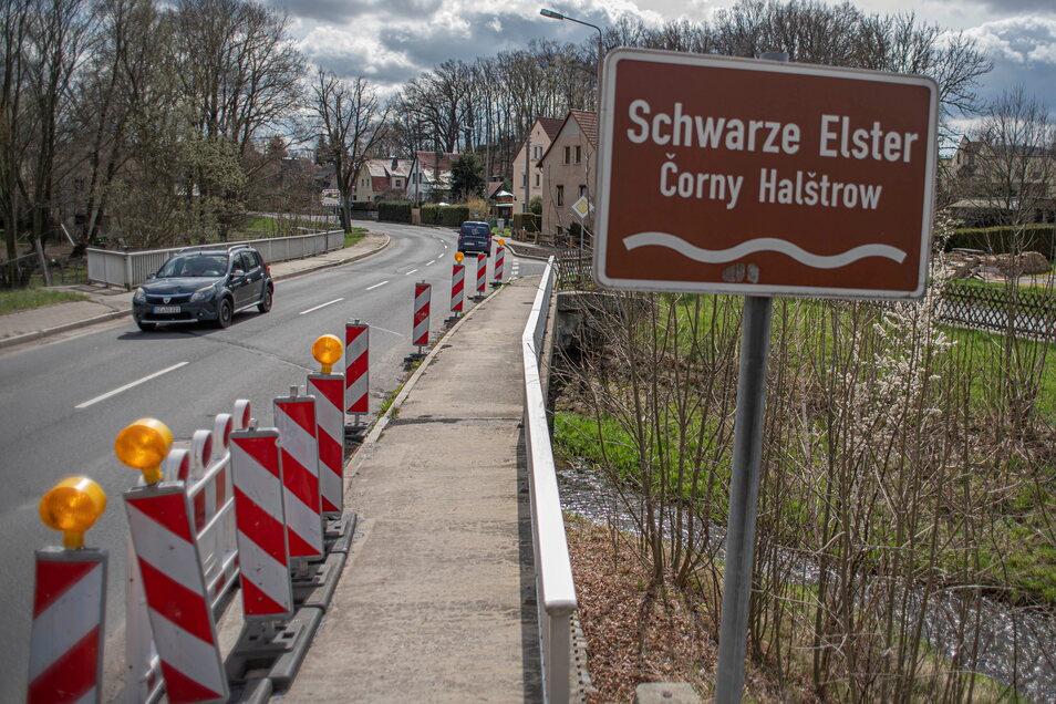 Noch in diesem Jahr soll der Neubau der Brücke über die Schwarze Elster in Kamenz-Wiesa starten.