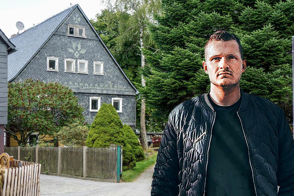 Zwei Musiker-Kollegen des rechtsextremen Rappers Chris Ares wohnen in diesem Haus in Weifa. Ares selbst hat sich aus der Region zurückgezogen.