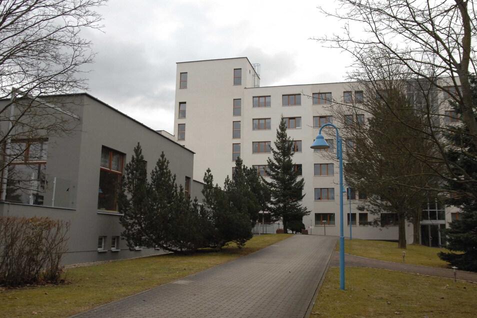 Das Pflegeheim in Niederoderwitz.