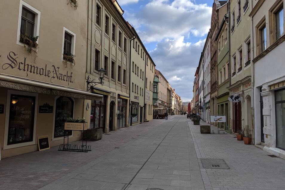 .... die Dohnaische Straße ...