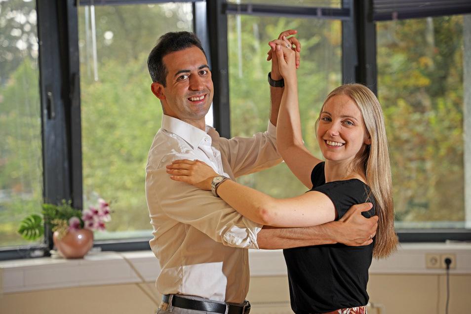 Jonatan und Jenny Rodríguez Pérez übernehmen die Tanzschule von Dorit Graf am Puschkinplatz in Riesa.