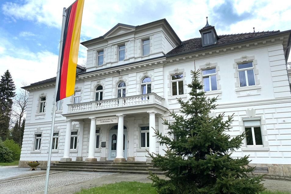 Das Gemeindeamt in Großschönau ist nach wie vor für die Bürger geöffnet.
