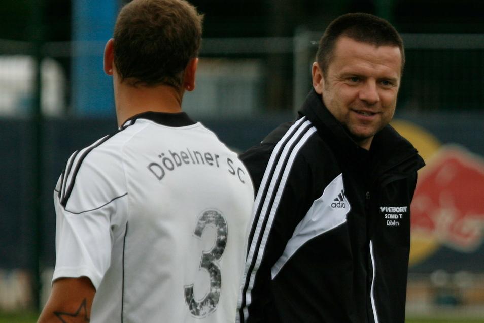 Thomas Kupper (rechts) übernimmt das Amt des Trainers beim Döbelner SC.
