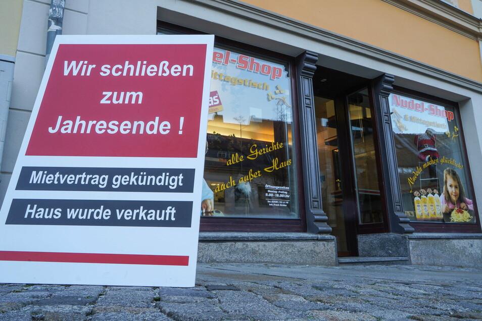 Der Nudel-Shop in der Nähe des Kornmarkts in Bautzen schließt - nach mehr als 20 Jahren.