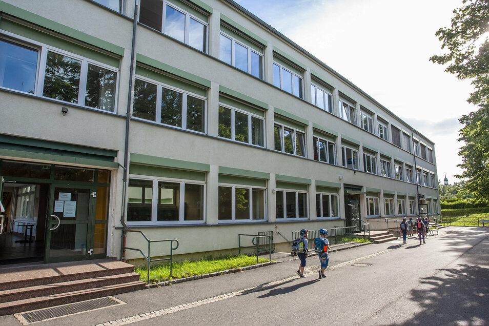 Die Grund- und Oberschule Kreischa wurde am vergangenen Wochenende geflutet.