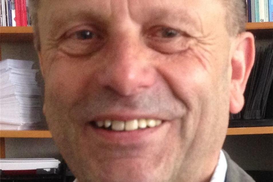 Dietmar Polster, Seniorensprecher der Eisenbahn-Gewerkschaft EVG in Sachsen.