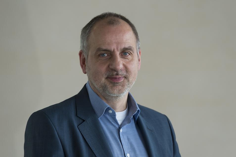 Rico Gebhardt, Vorsitzender der Linksfraktion im sächsischen Landtag
