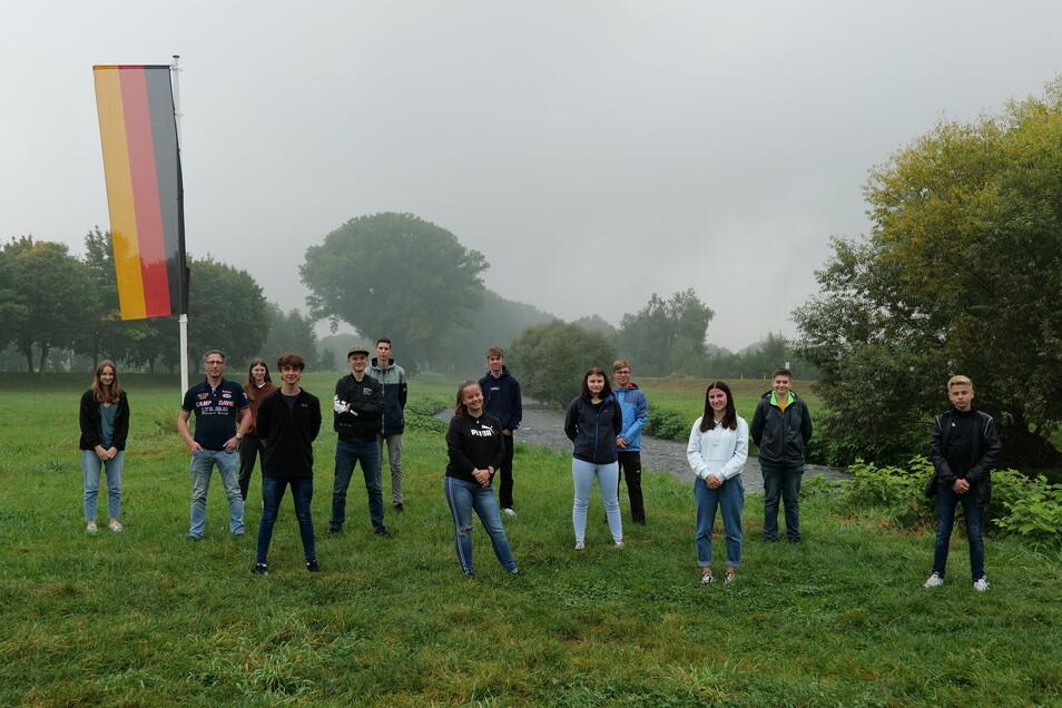 Schüler aus Seifhennersdorf, Herrnhut, Ebersbach, Wilthen, Cunewalde und Chemnitz haben die Arbeit bei der Bundespolizei kennengelernt.