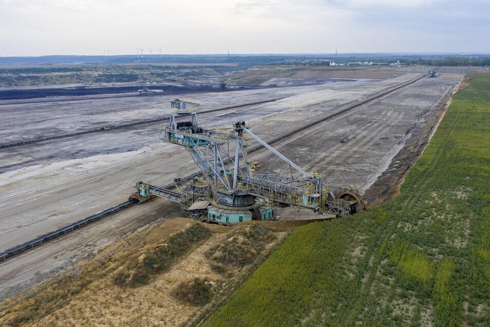 Der Tagebau Schleenhain befindet sich in der Nähe von Leipzig