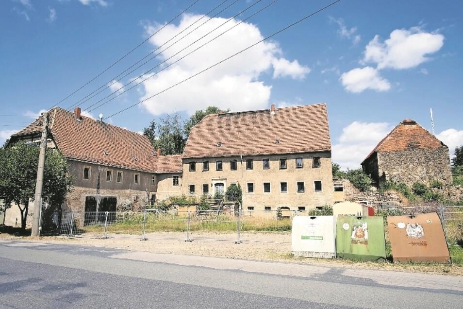 Keips Gut in Taubenheim ist in schlechtem Zustand. Seit 2002 gehört es dem Investor Georg Heidig aus Obermunzig.