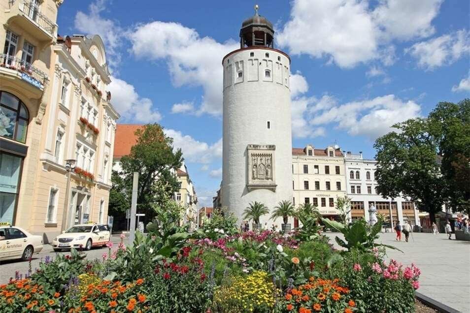 Der Dicke Turm am Marienplatz öffnet am Donnerstag.