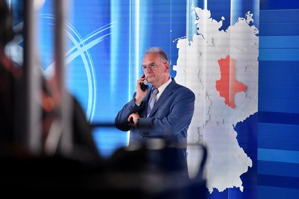 Reiner Haseloff, Ministerpräsident von Sachsen-Anhalt, hat die CDU zu einem deutlichen Wahlsieg geführt.