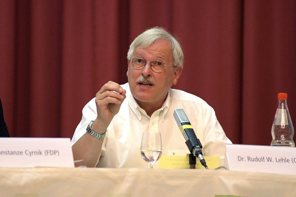 Für Dr. Rudolf Lehle von der CDU haben die 29,8 Prozent der Stimmen nicht für ein Mandat gereicht.