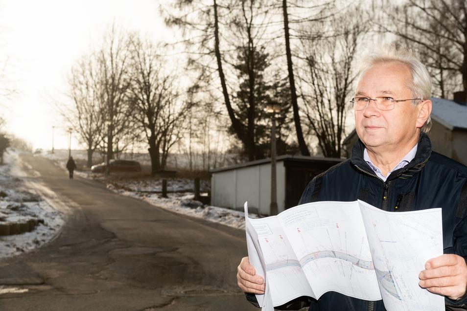 Guntram Steglich war bis Ende Juli vergangenen Jahres Bürgermeister von Steinigtwolmsdorf. Jetzt kehrt er für kurze Zeit ins Gemeindeamt zurück.