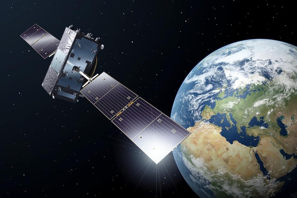 Der Ausfall des Navigationssystems Galileo ist nicht durch die Satelliten verursacht.