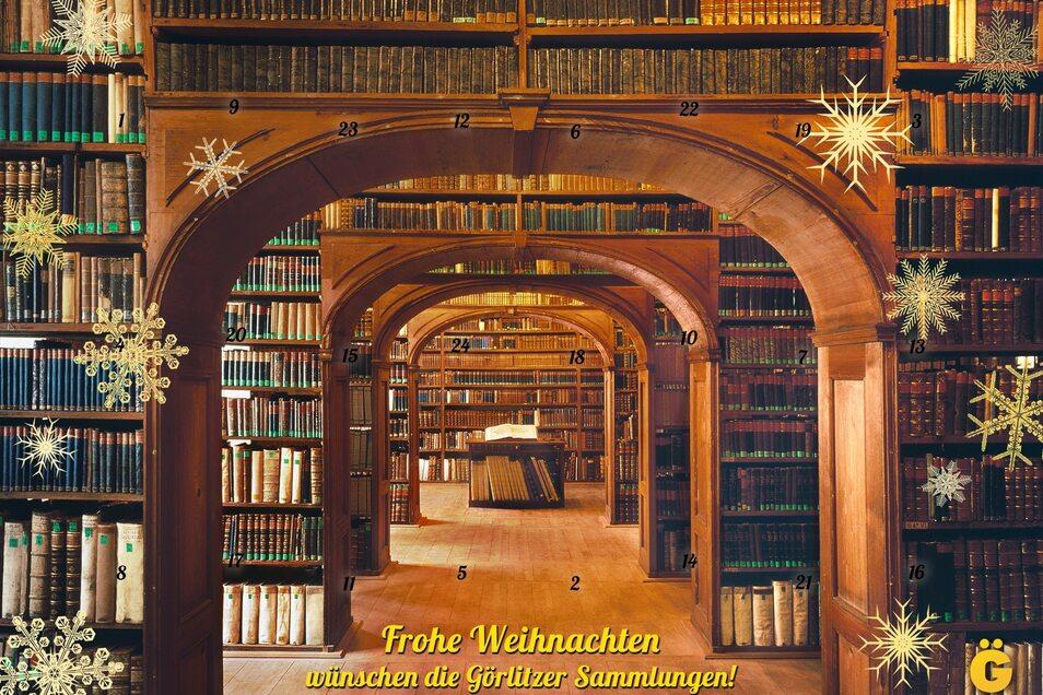 So sieht er aus, der neue Adventskalender aus den Görlitzer Sammlungen.