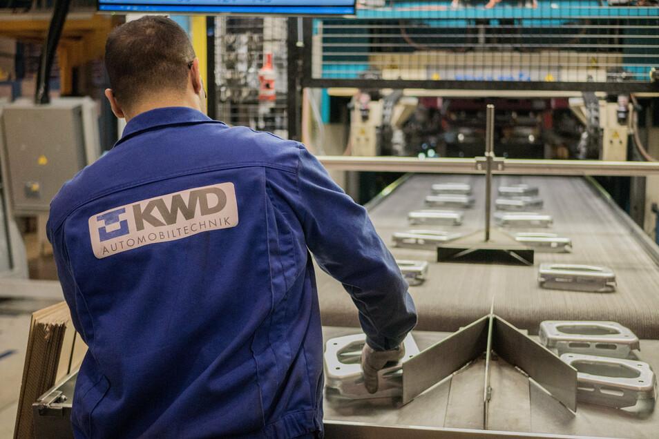 Das Karosseriewerk KWD und drei weitere Firmen in Radeberg laden für Freitag zum Rundgang ein.